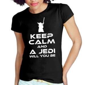 DAMSKA KEEP CALM JEDI