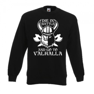 BLUZA GO TO VALHALLA VIKINGS