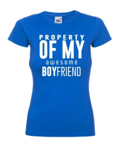PROPERTY OF MY BOYFREIND