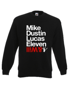 BLUZA MIKE DUSTIN LUCAS ELEVEN WILL