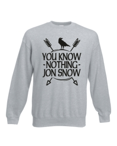 BLUZA YOU KNOW NOTHING JON SNOW