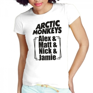 ARTIC MONKEYS ALEX MATT NICK JAMIE
