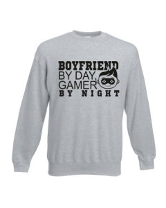 BLUZA BOYFRIEND BY DAY GAMER BY NIGHT