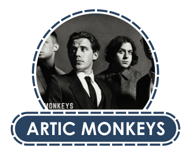 KOSZULKI ARTIC MONKEYS