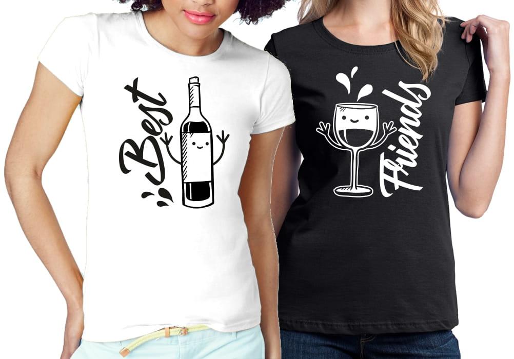 Koszulki Dla Przyjaciolek Best Friends Forever Bff 7622163769 Oficjalne Archiwum Allegro